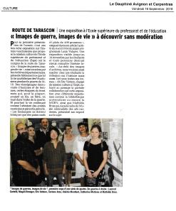 La Provence, expo Vitrine, proposition 1