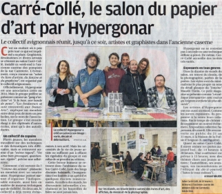 La Provence, salon Carré-Collé